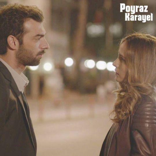 Poyraz Karayel -  Poyraz ( Ilker Kaleli ) ve Aysegül (Burçin Terzioglu)