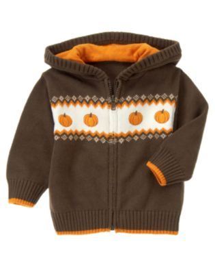 Gymboree-Harvest   Can't wait for little man to sport this sweater at the pumpkin patch and for Thanksgiving!