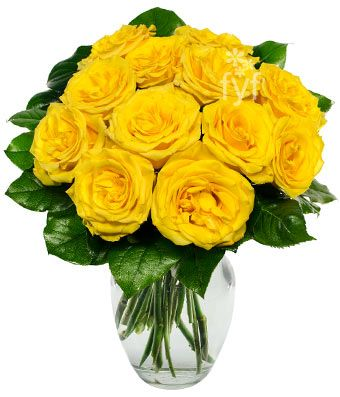 Yellow Rose Bouquet - Order before 10am for next day delivery…