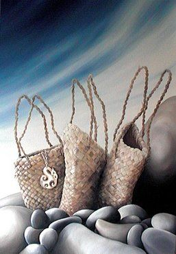 Ko Nga Kete Matauranga ~ The Three Baskets of Knowledge