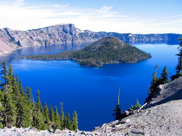 Crater Lake, Oregon  one of the real wonder on earth
