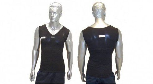 T-shirt that monitors chronically ill patients #WearableTech