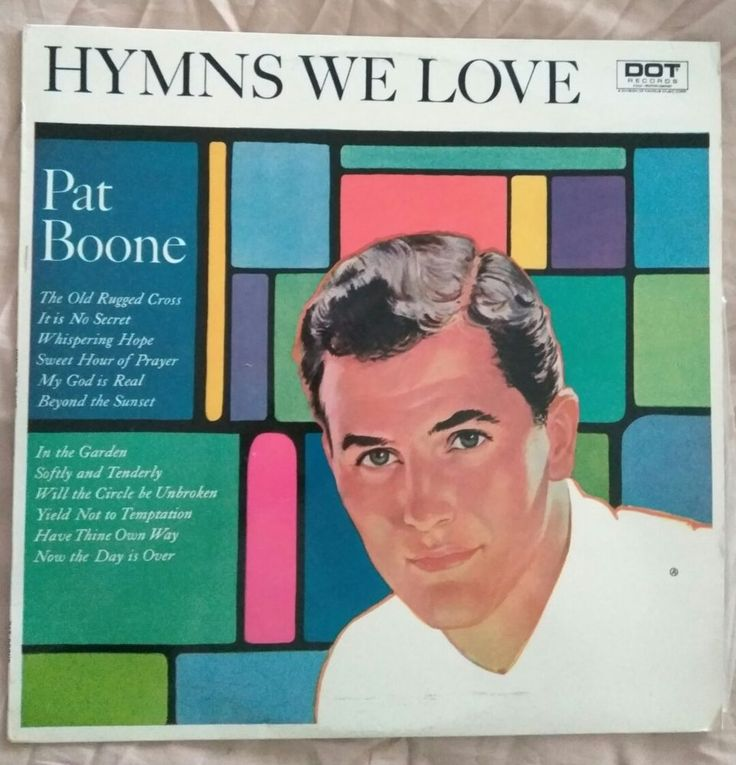 Pat Boone Hymns We Love LP in Music, Records | eBay!