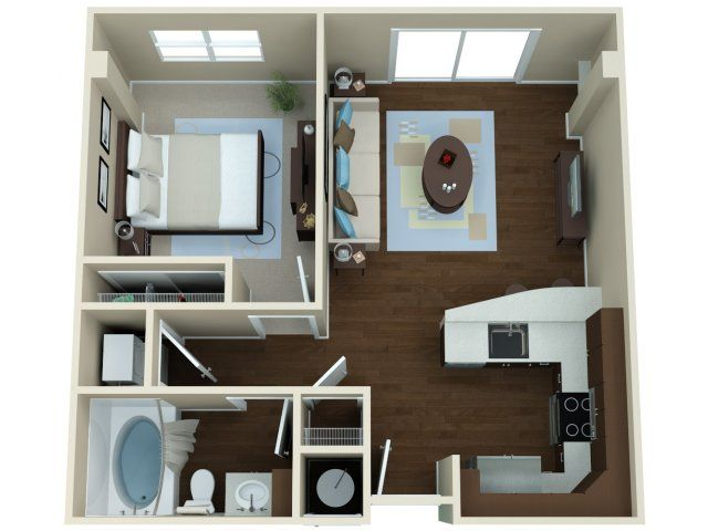 Amaranth | Apartment Floor Plans Cherry Creek