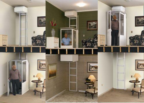 20 best vertical platform lift shaft hoistway through for Elevator flooring options