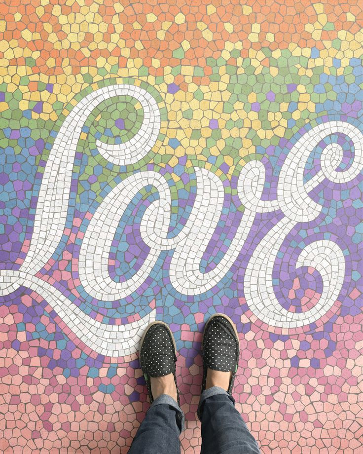 56 Best Mosaic Lettering And Signs Images On Pinterest