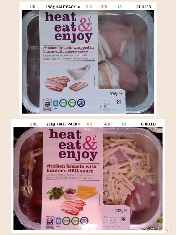 Lidl - Heat, eat & enjoy meals