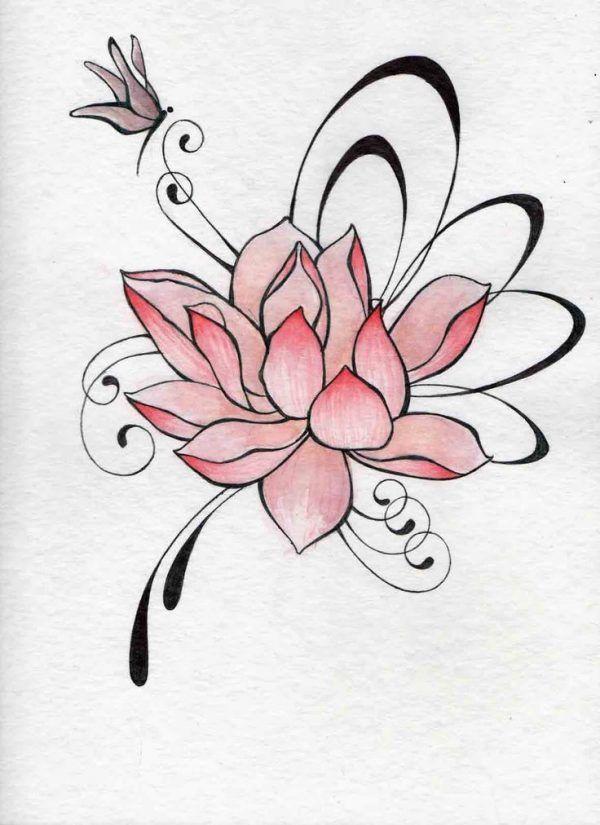 Imágenes De Tatuajes De Flor De Loto Tatuajes Para Mujeres