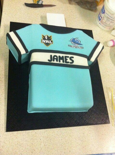 Sharks, NRL, Cake
