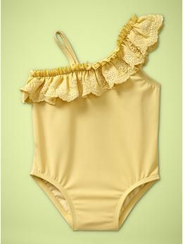 So I've seen this bathing suit for little girls floating around on here and I finally found it! If our little one turns out to be a girl, she WILL have this :] gap.com $24.95