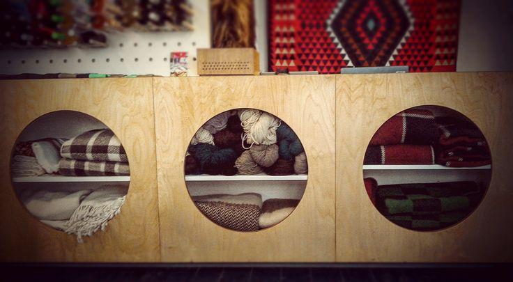 Prodejní pult / Counter, furniture design by Markéta Jestřábová
