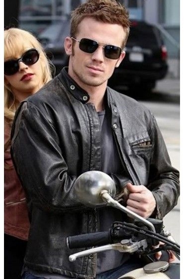 Movie Burlesque Cam Gigandet Jack Biker Leather Jacket for sale at Discounted Price $119.00 2010. Buy Online Now!   #MoviesJacket #LeatherJacket #Jacket #Burlesque #CamGigandet #Jack #BikerJacket #MotorcycleJacket #MensFashion