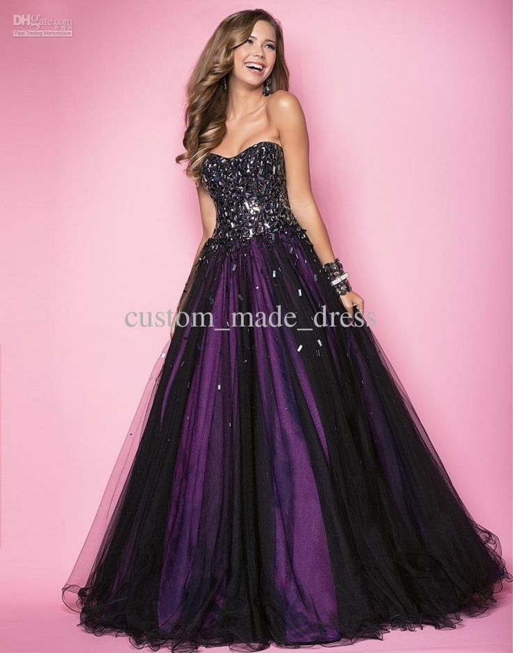 13 best Breathtaking Purple Formal Dresses images on Pinterest