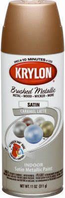 Krylon 51254 11 oz Bronze Metallic Enamel Spray Paint