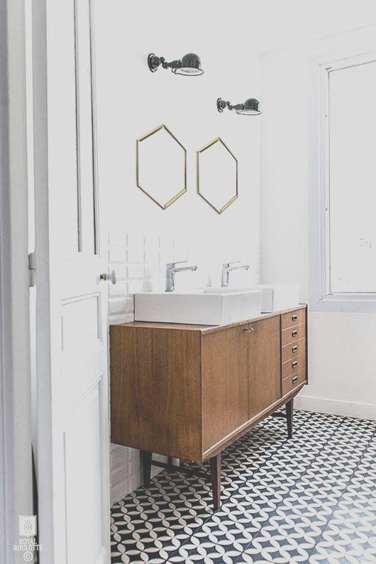 34 Midcentury Modern Bathroom Tiles Ideas Bathroom Trends Modern Vintage Bathroom Bathroom Inspiration Modern Popular examples of bathroom tiles