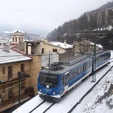 Tren cremallera Ribes-Nuria2014