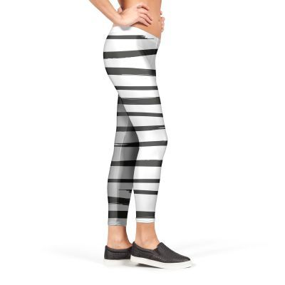 Strokes 01 Leggings by Alexandra Wolf (FroileinJuno) from €37.00 | miPic