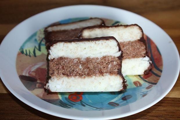 Kokosové rezy nepečené, recept | Naničmama.sk