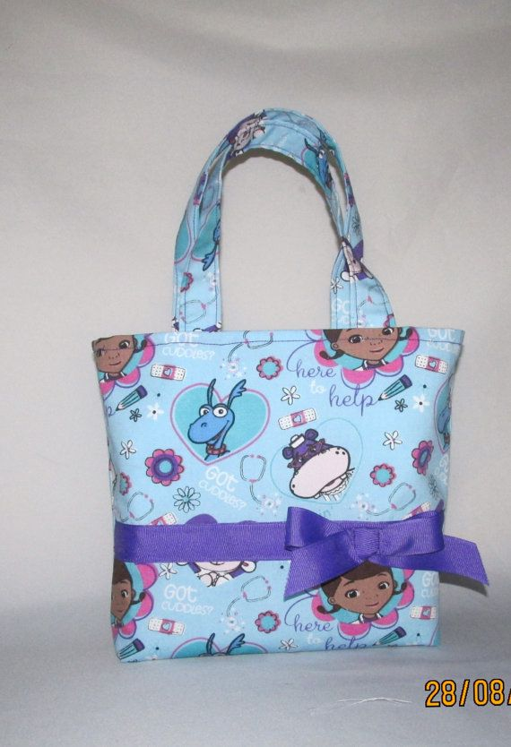 Doctor McStuffins Purse Small Tote Bag Small Purse by TKHobbies