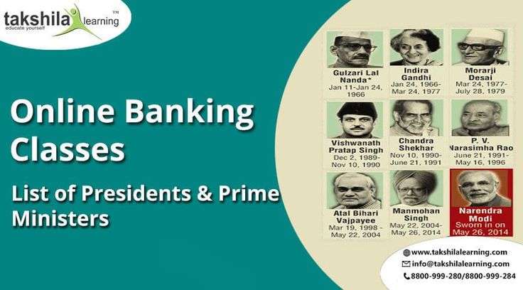 List of all Presidents & Prime Ministers of India - General Awareness