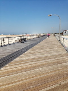 Jones Beach Boardwalk, Long Island, NY - I remember the long walks on this boardwalk...