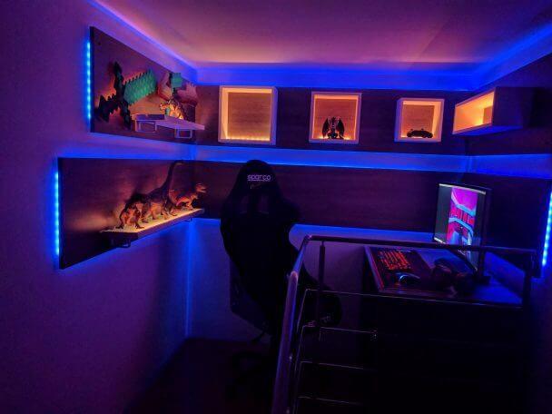 50 Best Setup Of Video Game Room Ideas A Gamer S Guide Quarto Gamer Garagem Faça Você Mesmo Sala De Jogos