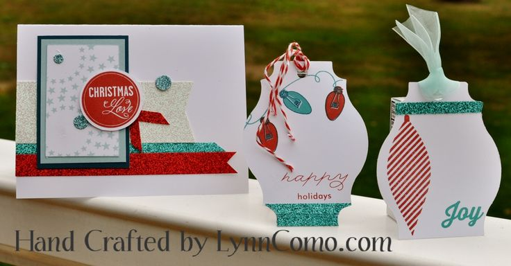 Love using my glitter paper and shimmer trim to create these card ideas using TWINKLE Stamp of the Month. Use your cricut cut scraps to create tags.