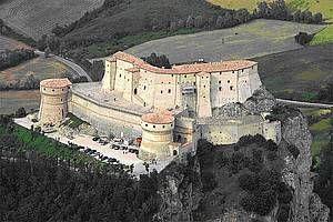 Il Forte di San Leo, conosciuto anche come Rocca di San Leo si trova nell'omonimo comune in provincia di Rimini, in Emilia-Romagna.
