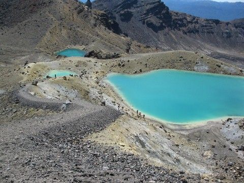 Tongariro Hell at Red Crater