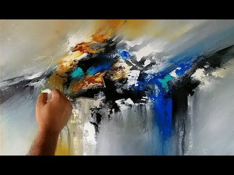 HD Video Demonstration YouTube Abstract Painting Acrylic Shadingart – YouTube