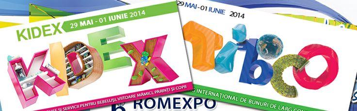 TIBCO, TARGUL DE PRODUSE DE LARG CONSUM se va desfasura in acelasi timp cu cel mai vesel targ pentru copii - KIDEX, expozitia de produse si servicii pentru bebelusi, viitoare mamici, parinti si copii va avea loc in Pavilionul Central din cadrul Romexpo, in perioada 29 mai - 1 iunie 2014 http://www.kidex.ro/