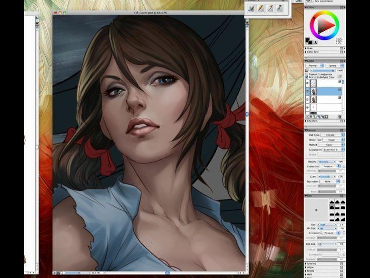 Digital Painting 2013 on Livestream