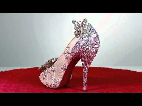 Cinderella's shoes by Christian Louboutin