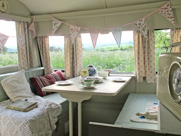 Mad Dogs and Vintage Vans | Boutique Glamping in Vintage Caravans in the Heart of the Wye Valley, Glamping Forest of Dean, Glamping Hereford...