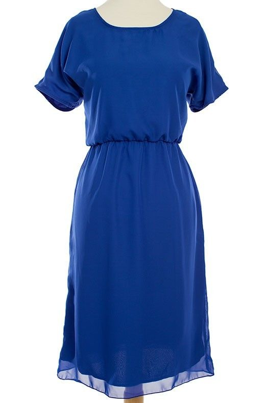 Gina - Blue - Omika Dress it up with a belt, jewellery and heels!