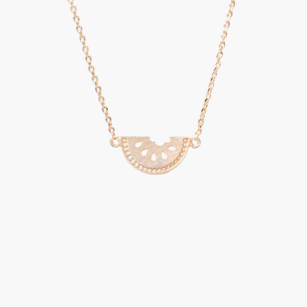 Pastèque Gold Necklace
