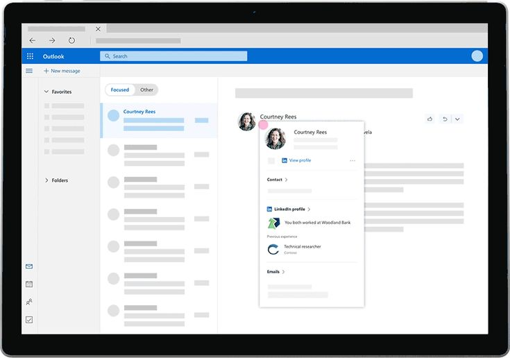 Learn about Microsoft pulls in LinkedIn details for Outlook.com users http://ift.tt/2zkJ29z on www.Service.fit - Specialised Service Consultants.