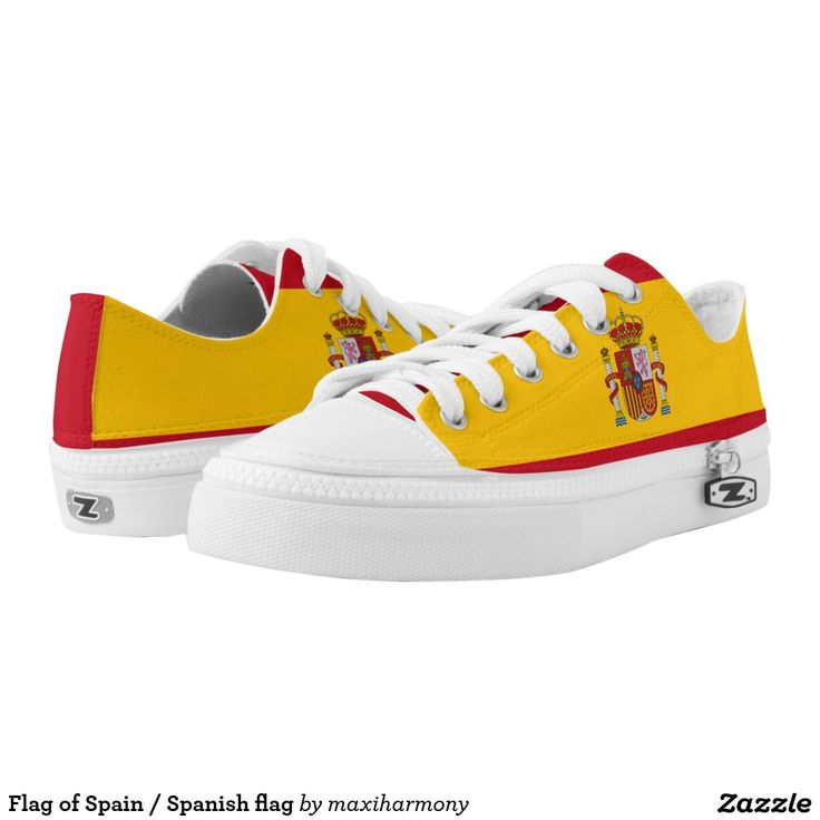Flag of Spain / Spanish flag Printed Shoes
