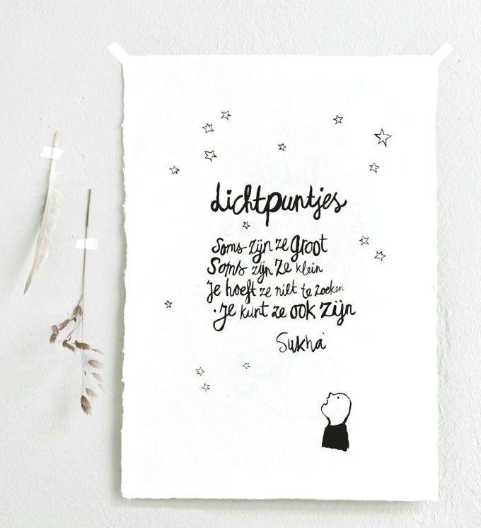 Wishes handwritten by @sukhaamsterdam seen on HappyMakersBlog.com