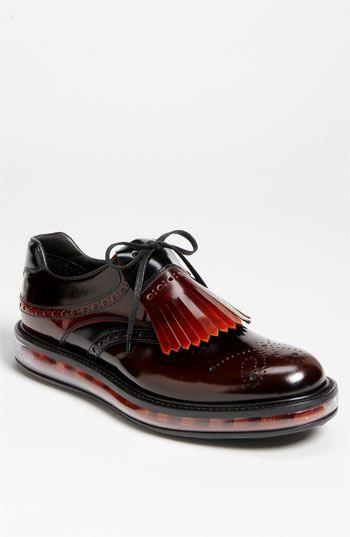 "Prada ""AIR""' Levitate' Kiltie Slip On available at #Nordstrom"