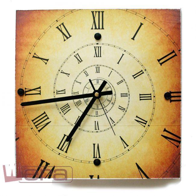 Часы Спираль времени