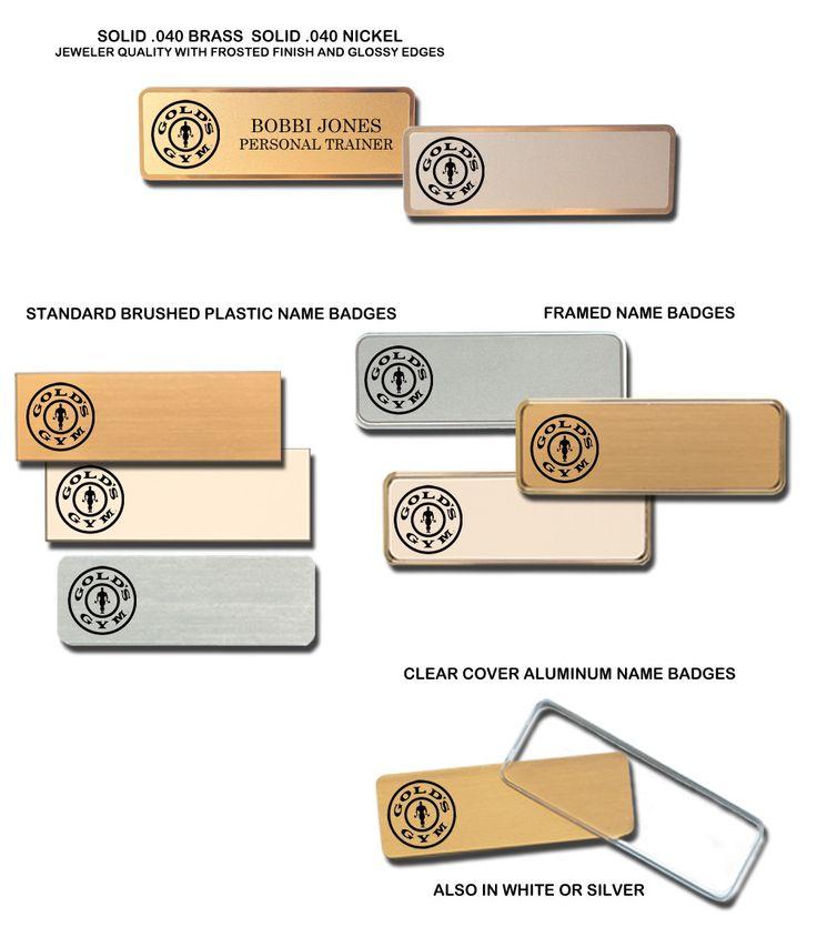 golds-gym-name-badges