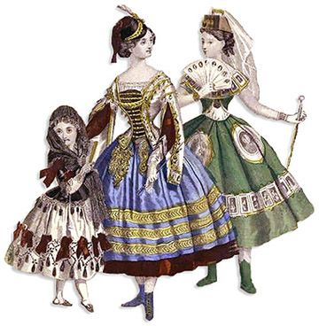 great article on victorian fancy dress