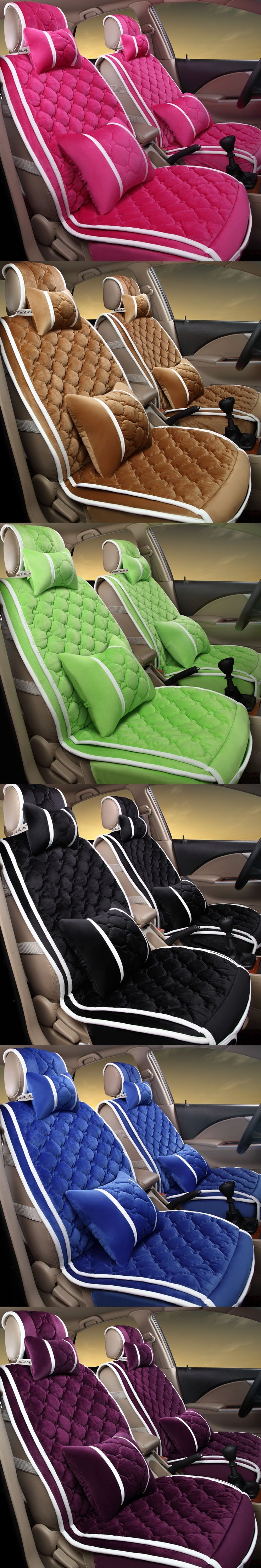 New 3D Sport Car Seat Cover General Cushion,Velvet,Car Styling For BMW Audi HONDA CRV Ford Nissan Sedan Ford