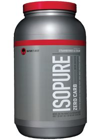 Isopure Zero Carb Strawberry by Nature's Best Isopure - Buy Isopure Zero Carb Strawberry 3 Powder at the vitamin shoppe #vitaminshoppecontest