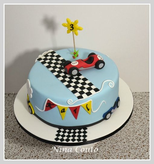 Happy Birthday Nathan Cake Porsche