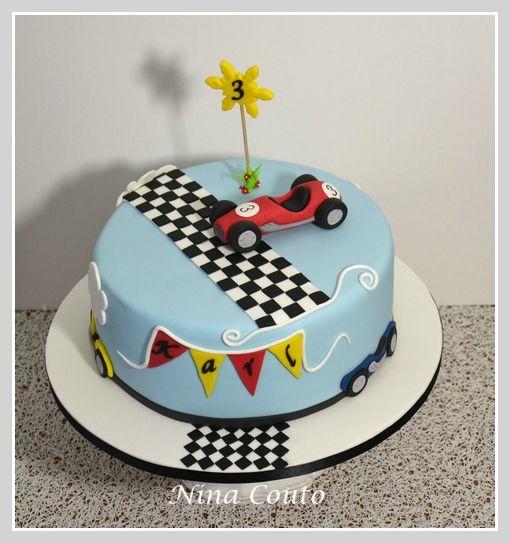 Happy Birthday Nathan Cake Porsche