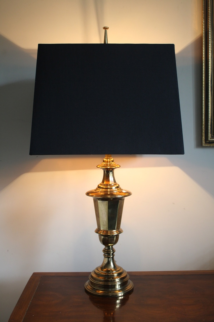 how to clean stiffel brass lamps