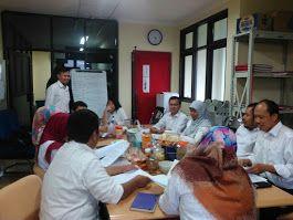 Rapat Kordinasi para staf dan pimpinan UPPD Senen