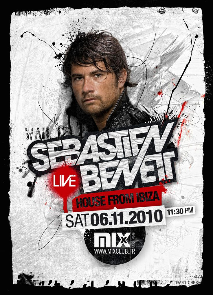 2010 - SEBASTIEN BENET  MIX CLUB PARIS